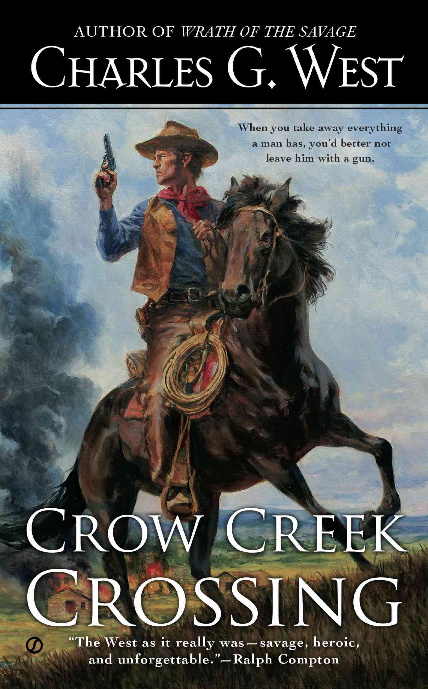 Crow Creek Crossing By West, Charles G.